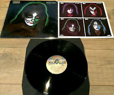 KISS Peter Criss Vinyl LP 1978 1st Press Casablanca USA EX + Original Inner