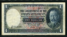 Straits Settlements 1935, 1 Dollar, 60498, P16b, VF