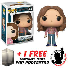FUNKO POP VINYL HARRY POTTER HERMIONE WITH TIME TURNER + FREE POP PROTECTOR
