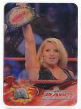 TRISH STRATUS 2005 WWE ANIMOTION LENTICULAR CARD 143 ( ITALY EXCLUSIVE ) Rare!