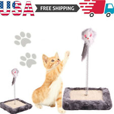 Us Cat Toy Cat Feather Cat Disk Grinding Claw Board Interactive Pet Supplies