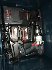 New Bosch GSB 18-2-LI Cordless Drill with 2 batteries and charger kit 2x 4.0Ah