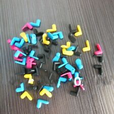 80 pcs 4 Color Rubber plug for canon/epson/brother Refillable Ink Cartridge