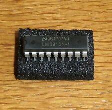 2 x LM 3915 N-1   ( = Dot / Bargraph LED Display Driver , DIP18 = 2 pcs )