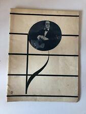 programme Andrés SEGOVA récital de guitare PLEYEL 1929 Garretto Chachoin Succès