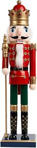 50cm Christmas Nutcracker Soldier Nut Cracker Party Decor Xmas Ornament Gifts
