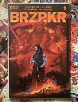 BRZRKR #1 VANCE KELLY EXCLUSIVE RED Variant ONLY 750! NM! IN HAND! BERZERKER