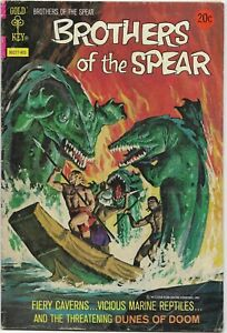 Brothers of the Spear #8 - VG/Fine - Gold Key - Dunes of Doom