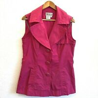 Worth New York Pink Vest Size 10 Womens Sleeveless Top