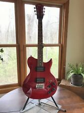 LYON by WASHBURN RED Electric Guitar - Model L115 Works And Sounds Great!
