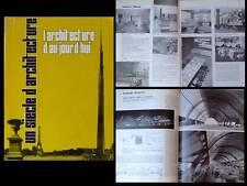 L'ARCHITECTURE D'AUJOURD'HUI 1964 UN SIECLE D'ARCHITECTURE PERRIAND LE CORBUSIER