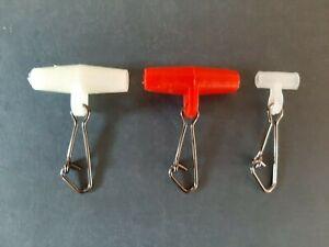 Zip sliders, mini zip sliders, red, white, black, luminous colours