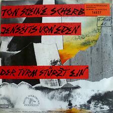 """7"""" 1981 MINT- ! TON STEINE SCHERBEN : Jenseits von Eden"""