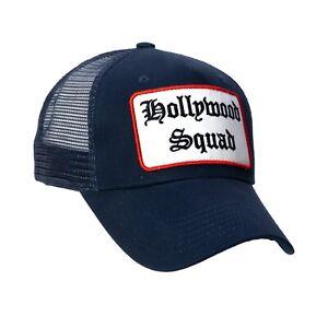 Chiccheria Brand Trucker Cap / Baseball Cap HOLLYWOOD SQUAD blau NEU