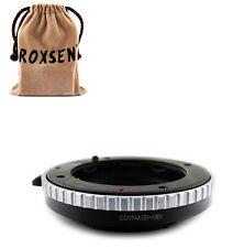 Contax G G1 G2 Lens to SONY E Mount NEX adapter NEX-6 A6000 A7S A7 A5100 VG20E