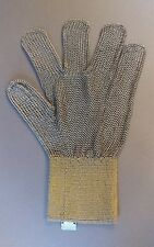 Azon Steel Metal Mesh PPE Glove. Personal Pertective Equipment. Ring Mesh