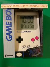 Nintendo Game boy Alarm Clock with Official Super Mario Land Alarm Sounds New