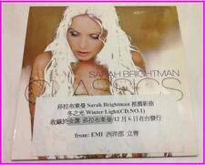 Sarah Brightman 2001 Classics Winter Light Ave Maria Taiwan 6 Track Promo CD