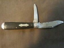Valley Forge Pocket Knife Antique 2 bade
