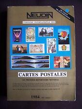 Cartes postales de collection - Le premier répertoire mondial 1984