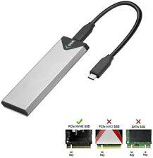 SSK SHE-C325 M.2 NVMe PCIe USB Type-C USC-C SSD Enclosure Adapter USB 3.1 Gen 2