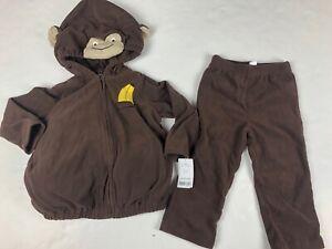 Carter's Monkey Boys Girls Halloween Costume 24 Months NWT