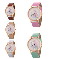 Elegant Women Girls Simple Unicorn Scale Wristwatch Watches Fashion Gift