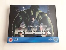 Marvel The Incredible Hulk Blu-ray Steelbook [UK] Play.com Exclusive RARE! NEW