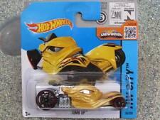 Hot Wheels 2015 #034/250 TOMB UP Golden yellow HW CITY CASE E
