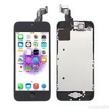 For iPhone 5c LCD Display Touch Panel Front Screen Cover Home Button Camera HNGK