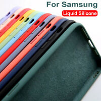 For Samsung Galaxy A12 A42 5G Shockproof Liquid Silicone TPU Phone Case Cover