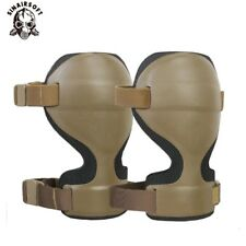 ARC Style Tactical Combat Military Knee Cap Protector Pads SWAT Airsoft Gear Set