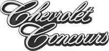1977 Nova Chevrolet Concours Trunk Lid Emblem