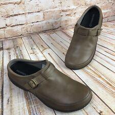 Merrell Encore Kassie Womens Size 9 Brindle Leather Slide Moc Comfort Shoes Clog