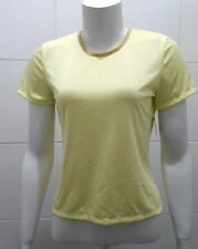 NUOVO Patagonia WOMEN'S Capilene ® SILKWEIGHT Manica ad Aletta T-shirt, Glow-S