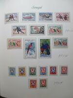 Senegal Mnh Stamps Lot