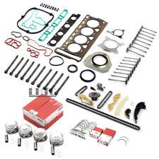 Engine Overhaul Rebuilding Pistons Valves Kit For VW Audi A4 A5 1.8 TFSI CDH CDA