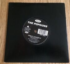 "3rd Stone POP002S The Popguns - Harley Davidson (1996) 7"" Single Vinyl"
