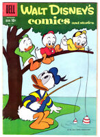 Walt Disney's COMICS and STORIES #228 in VF grade a 1959 Dell comic DONALD DUCK
