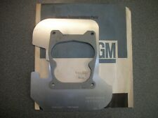 NOS GM Quadrajet Q-Jet Carburetor Heat Shield RS, SS, Z28