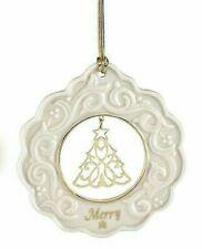 "🎄 Lenox ""Merry Tree"" Ornament Porcelain New In Box 🎄"
