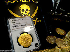 "MEXICO 8 ESCUDOS DATED! ""1715 PLATE FLEET SHIPWRECK"" 1715 GOLD DOUBLOON TREASURE"
