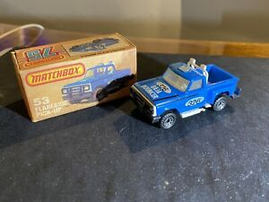 MATCHBOX No.53 FLARESIDE PICK-UP 326 BAJA BOUNCER MINT CONDITION BOXED 1981