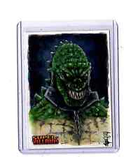 DC Super-Villains sketch card by J.Potratz&Jack Hoi