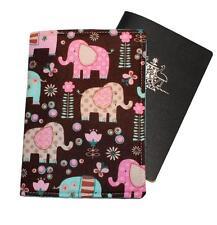 PASSPORT COVER/FOLDER/WALLET - ELEPHANTS #1 crafted by Graggie Australia*GA