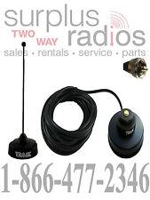 Black Vhf Magnet Mount Antenna Kit Icom Mobile F5011 F5021 F5061 F1721 F2821