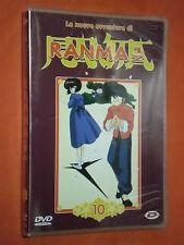 DVD ANIMAZIONE- DA COLLEZIONE-RANMA 1/2-nuove avventure-N°10-ep.n°111/116-NUOVO