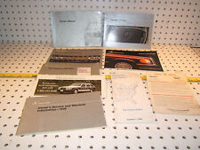 Mercedes 1990 300E 4 matic/260E/300CE owner's manual 1 set of  9 Booklets/Papers