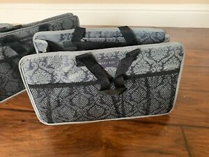 Mary Kay Consultant Storage Craft Cosmetic Travel Case Organizer Tote W Handle