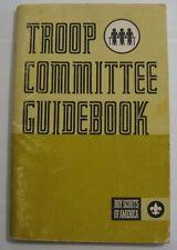 Vintage 1972 Troop Committee Guidebook Booklet BSA Boy Scouts America